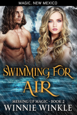 Book Cover: Swimming for Air