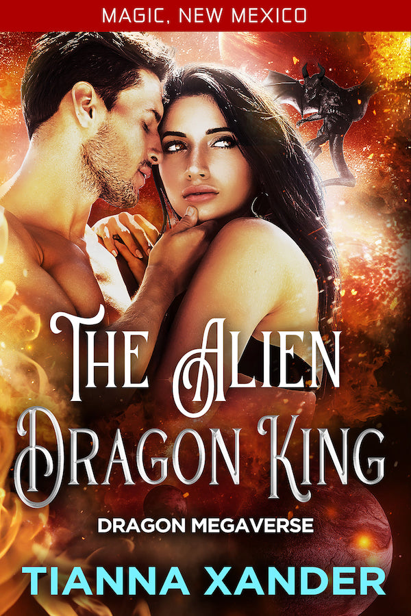 Book Cover: The Alien Dragon King
